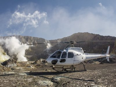 Frontier Helicopters White Island Volcano Adventure