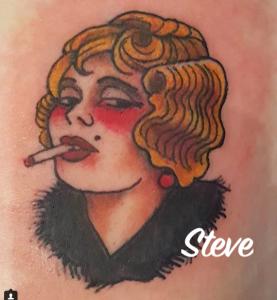 Steve Malley tattoo extravaganza