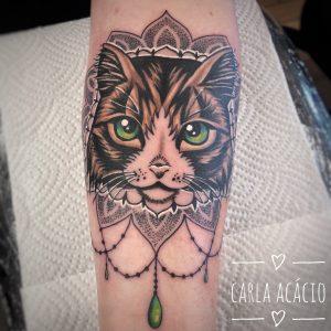 Cara Acácio tattoo extravaganza