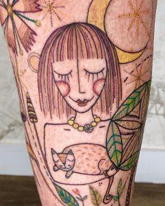 Julie tattoo extravaganza