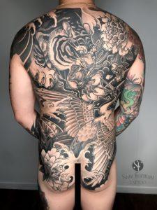 Sam Forman tattoo extravaganza