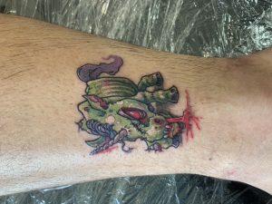 Dave McEwan tattoo extravaganza