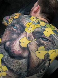Hu Fruhmann tattoo extravaganza