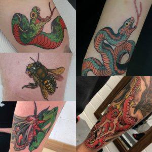 Currar Whithamfield tattoo extravaganza