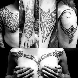 Pip Hartley tattoo extravaganza