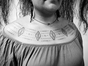 Tyla Vaeau tattoo extravaganza