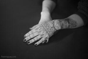 Paninnguaq Lind Jensen tattoo extravaganza
