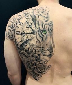 Emily Hansom tattoo extravaganza