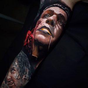 Mihails Neverovs tattoo extravaganza