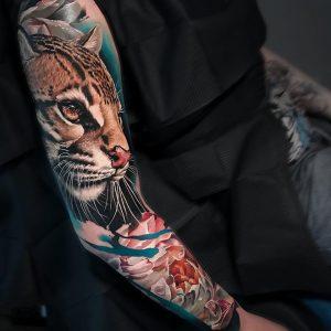 Sandra Daukshta tattoo extravaganza
