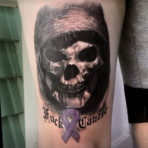 Alan Spud Pudney tattoo extravaganza