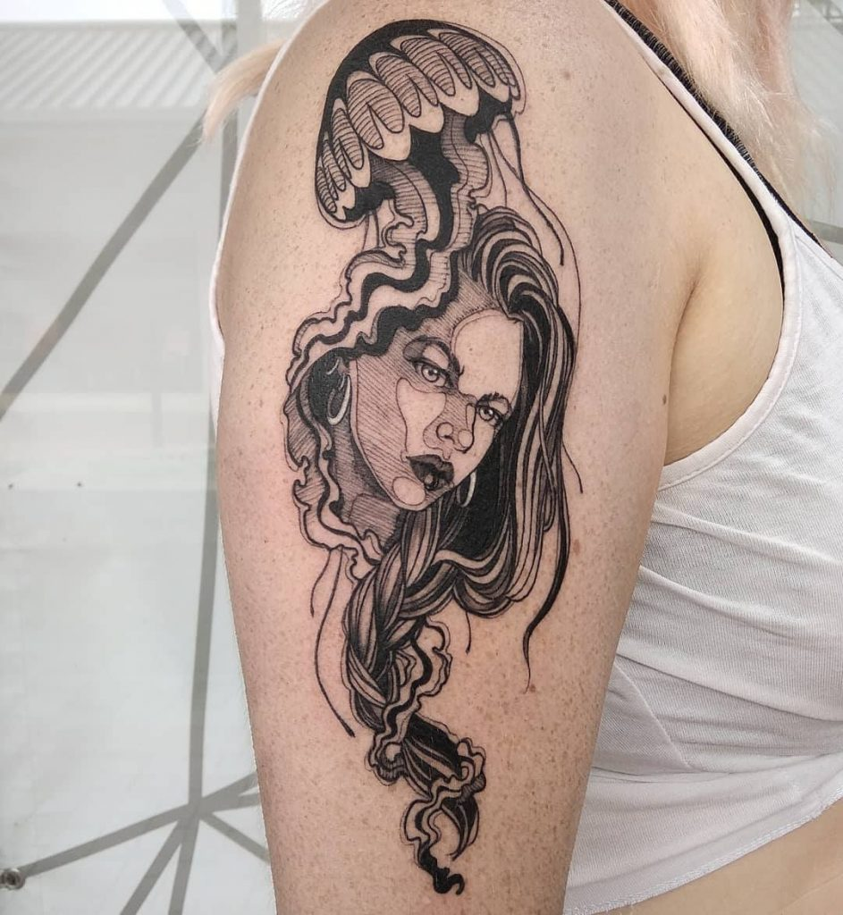Chibi Raccoon Art tattoo extravaganza