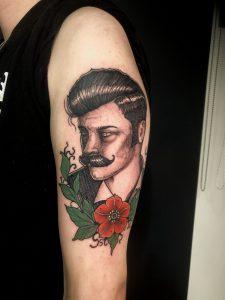 David Lapointe tattoo extravaganza