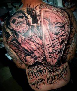 Deadmind tattoo extravaganza