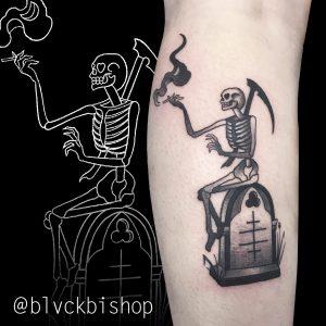 Shane Bishop tattoo extravaganza