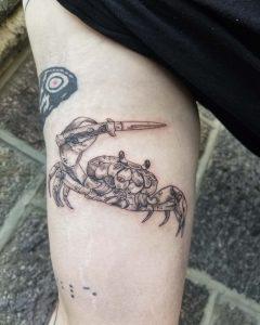 Silky Jo tattoo extravaganza