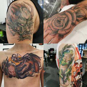 Toby Aldridge tattoo extravaganza
