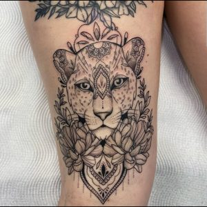 Brooke Hodges tattoo extravaganza
