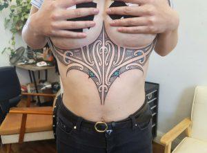 Tyler Jade tattoo extravaganza