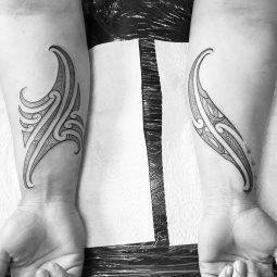 Vianney Parata tattoo extravaganza